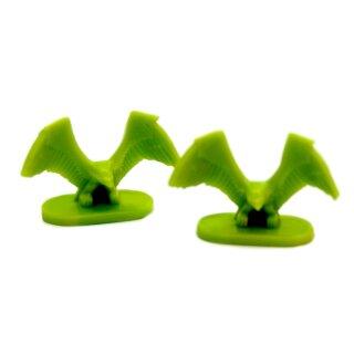 2 Adler Grün Ersatzteile-Set zum Brettspiel