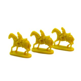 3 gelbe Reiter von Rohan im kleinen Set