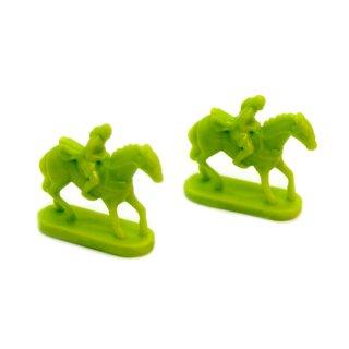 3 grüne Reiter von Rohan im Set Herr Der Ringe Risiko