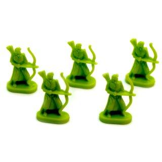 5 Bogenschützen Grün Herr Der Ringe Risiko