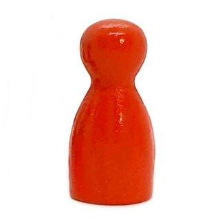 Pöppel Spielfiguren aus Holz Orange