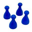 Spielfiguren aus Kunststoff Blau