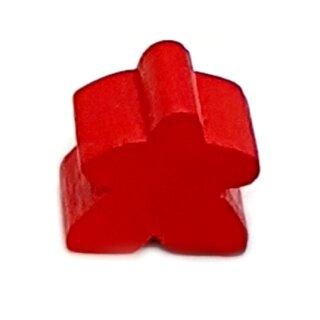 Spielfiguren aus Holz 15 x 16mm Rot
