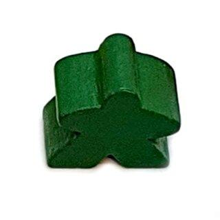 Spielfiguren aus Holz 15 x 16mm Grün