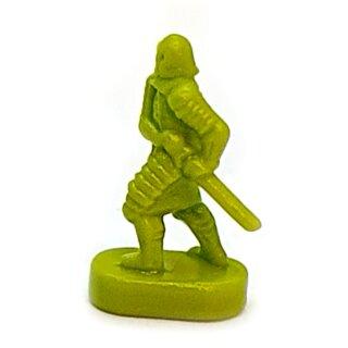 Schwertkämpfer / Infanterie grüne Armee Herr der Ringe Risiko Erweiterung