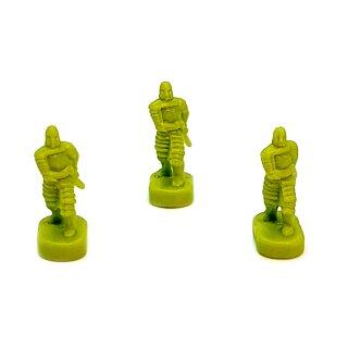 5 Schwertkämpfer / Infanterie grüne Armee Herr der Ringe Risiko Erweiterung