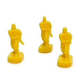 5 Schwertkämpfer / Infanterie gelbe Armee Herr der Ringe Risiko Erweiterung